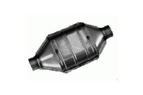 Catalyseur Inox 400mm diamètre 63,5mm 100/200 cellules