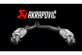 Ligne Evolution Akrapovic AUDI RS6 Avant  (C7) 2014