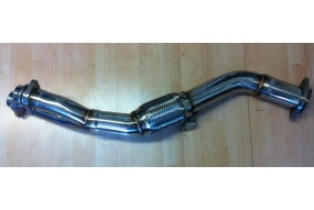 Downpipe 530d E39 3.0d Inox pré-catalyseur decat tube