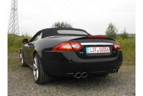 Front Pipe Inox Jaguar XKR avec catalyseur (200 cellules) 70mm Friedrich Motorsport