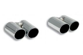 Embouts  2x  Sortie Duplex  80mm AUDI A3 8P 1.8 TFSi (160 CV) 08- Supersprint