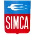 Plaquettes de freins EBC SIMCA